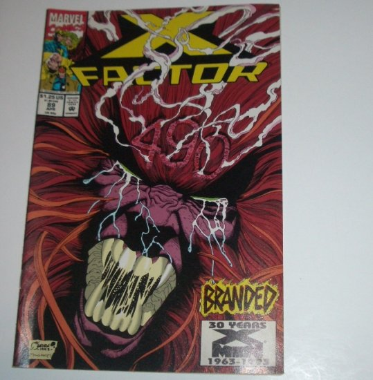 X Factor #89 (Marvel Comics 1993)