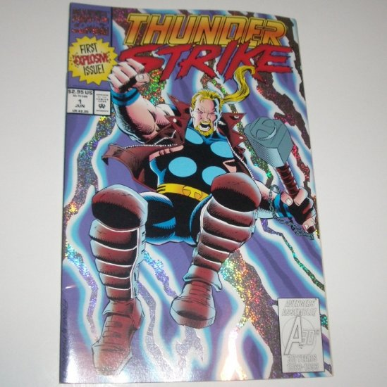 ThunderStrike #1 (Marvel Comics 1993) Foil Cover