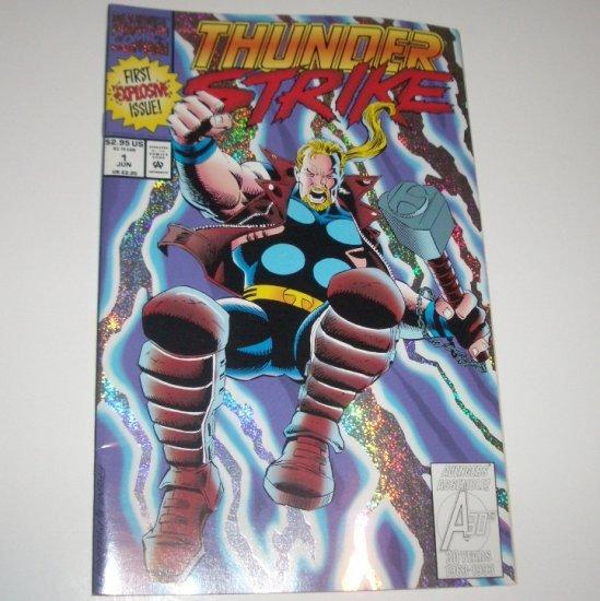 ThunderStrike #1 (Marvel Comics 1993) Foil Cover