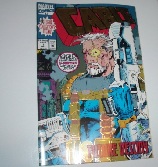 Cable #1 (Marvel Comics 1993) Gold Foil Cover