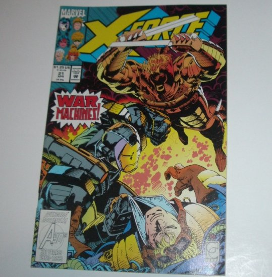X-Force #21 (Marvel Comics 1993)