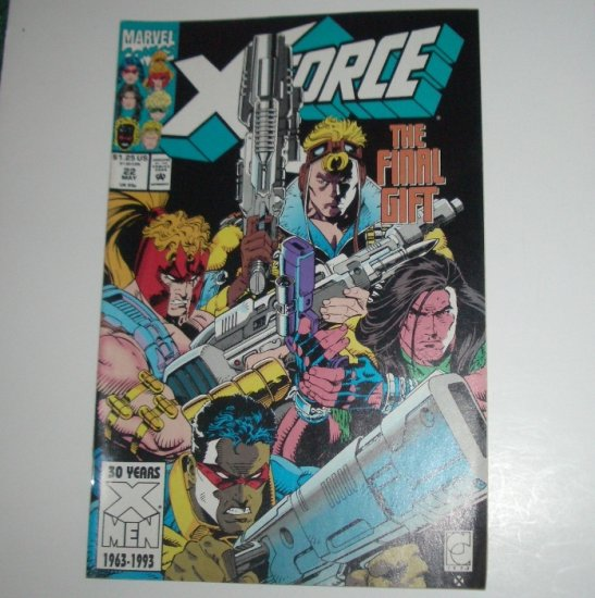 X-Force #22 (Marvel Comics 1993)