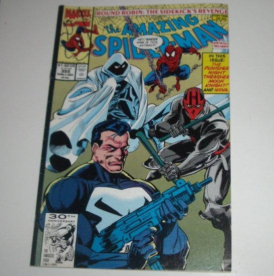 Amazing Spider-Man #355 (Marvel Comics 1991)