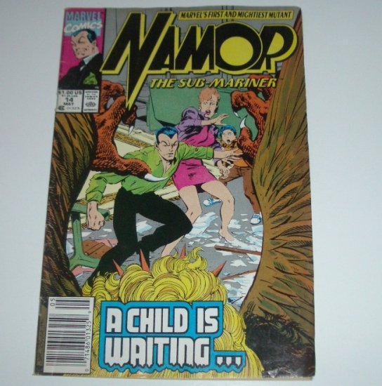 Namor the Sub-Mariner #14 (Marvel Comics 1991)