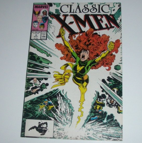 Classic X-Men #9 (Marvel Comics 1987)
