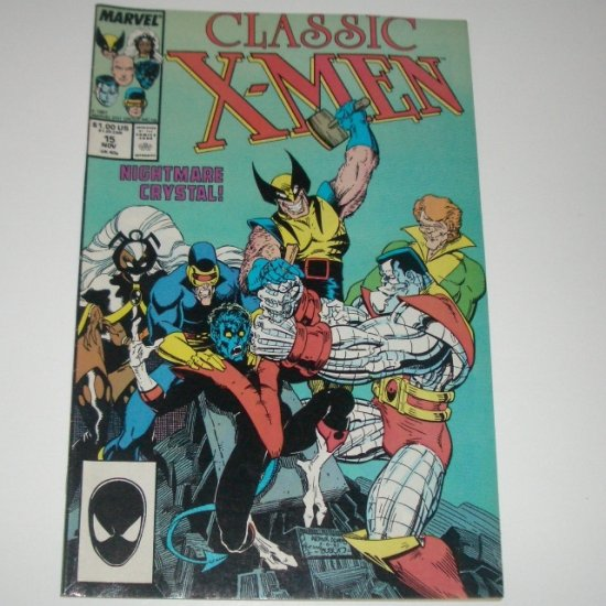 Classic X-Men #15 (Marvel Comics 1987)