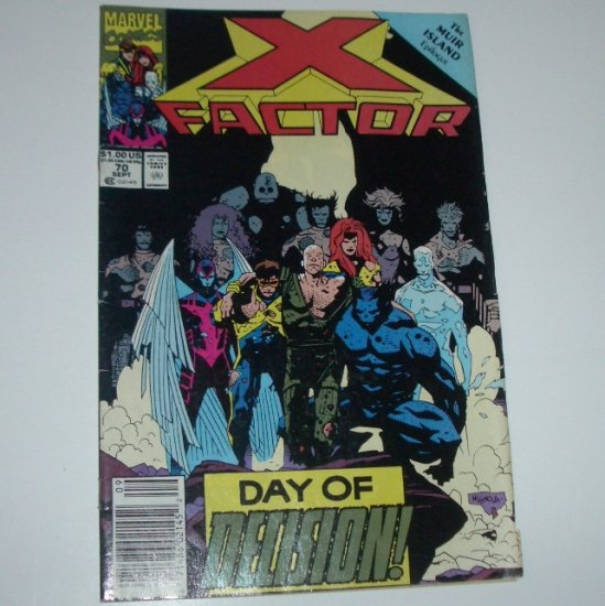 X-Factor #70 (Marvel Comics 1991)