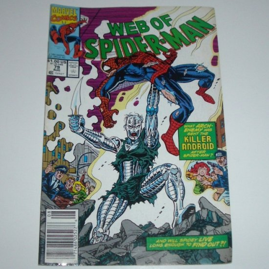 Web of Spider-Man #79 (Marvel Comics 1991)