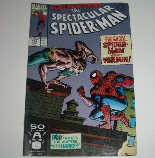 Spectacular Spider-Man #179 (Marvel Comics 1991)