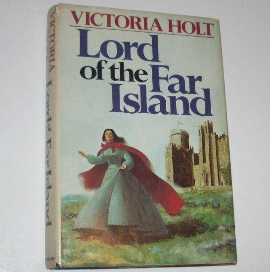 Lord of the Far Island by Victoria Holt Gothic Romance Hardcover Dust Jacket 1975