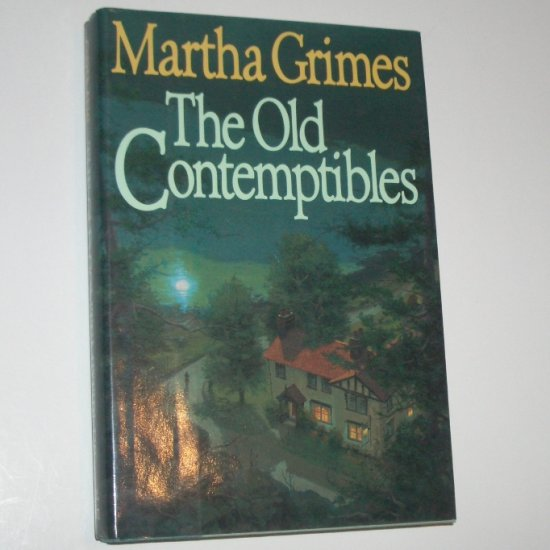 The Old Contemptibles MARTHA GRIMES Richard Jury Cozy Mystery 1991 Hardcover Dust Jacket 1st Ed