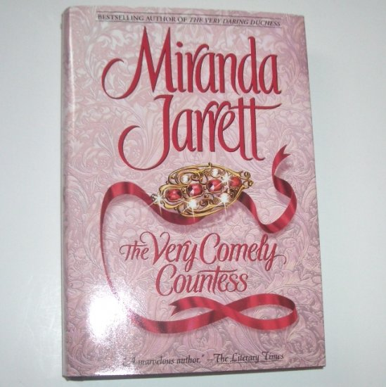 The Very Comely Countess by MIRANDA JARRETT Regency Romance Hardcover Dust Jacket 2001