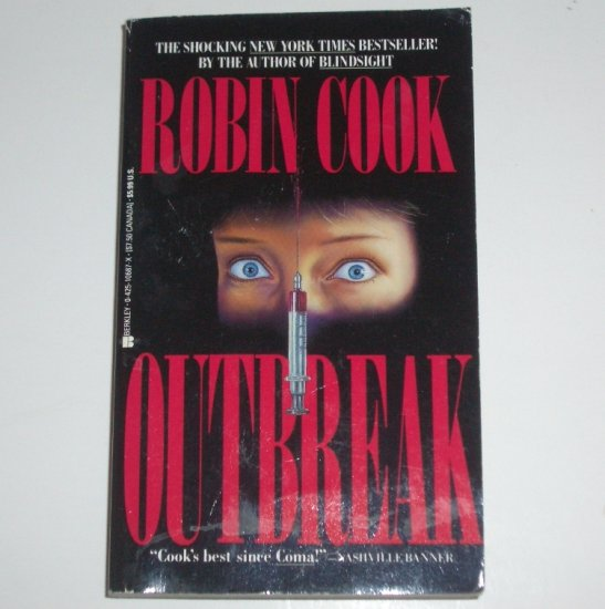 Outbreak by ROBIN COOK Medical Thriller 1988
