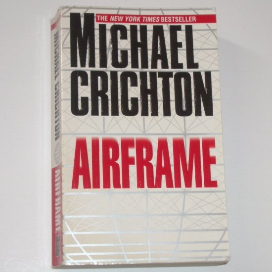Airframe by MICHAEL CRICHTON Suspense Thriller 1997