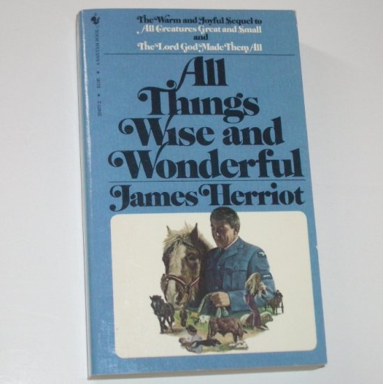 All Things Wise and Wonderful by JAMES HERRIOT 1981