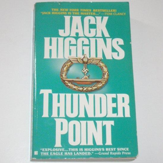 Thunder Point by JACK HIGGINS Sean Dillon Espionage Thriller 1994