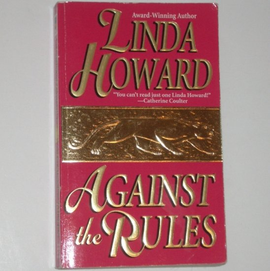 Against the Rules by LINDA HOWARD Romance 1983