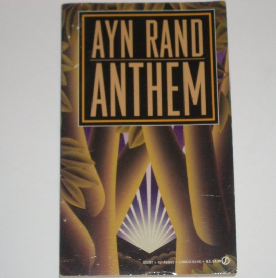 Anthem by AYN RAND Political Fiction