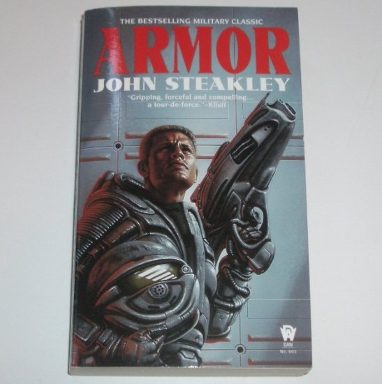 Armor by JOHN STEAKLEY Science Fiction 1984 DAW Book Collectors No. 605
