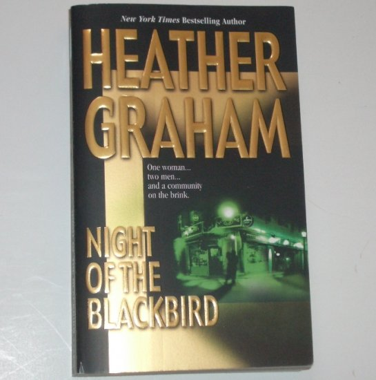 Night of the Blackbird by HEATHER GRAHAM Romantic Suspense 2001