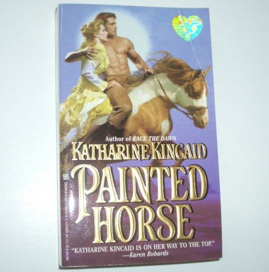 Painted Horse by KATHARINE KINCAID Zebra Splendor Historical Western Romance 1998