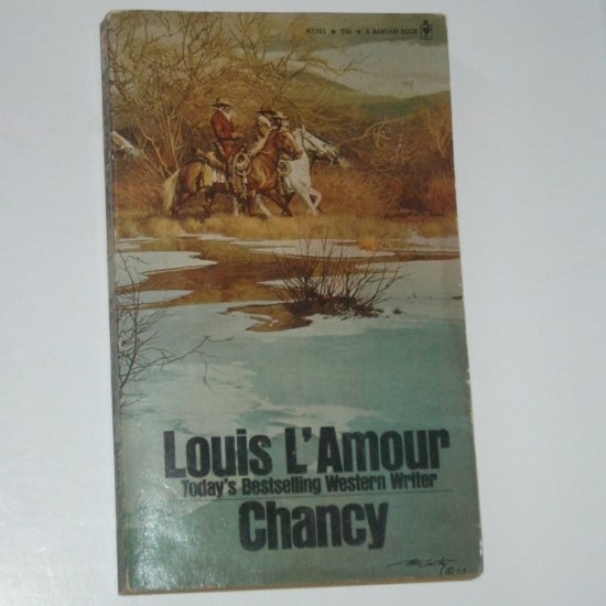 Chancy by LOUIS L'AMOUR Western 1973