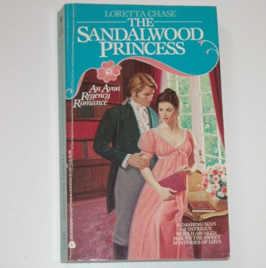The Sandalwood Princess by LORETTA CHASE Avon Historical Regency Romance 1991