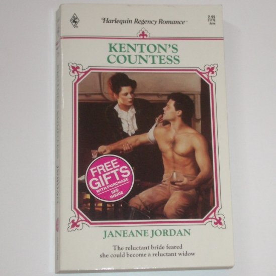 Kenton's Countess by JANEANE JORDAN Harlequin Historical Regency Romance No 76 1992
