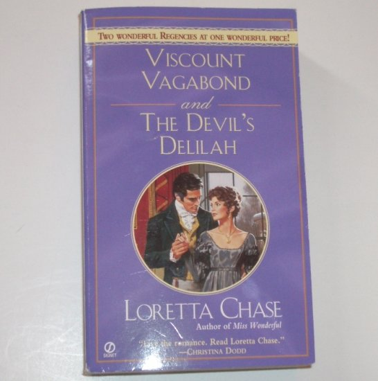 Viscount Vagabond and The Devil's Delilah by LORETTA CHASE Signet 2-in-1 Regency 2004