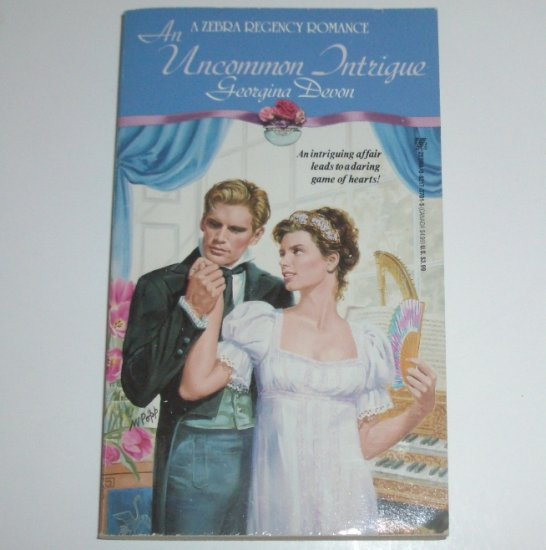 An Uncommon Intrigue by GEORGINA DEVON Zebra Historical Regency Romance 1992