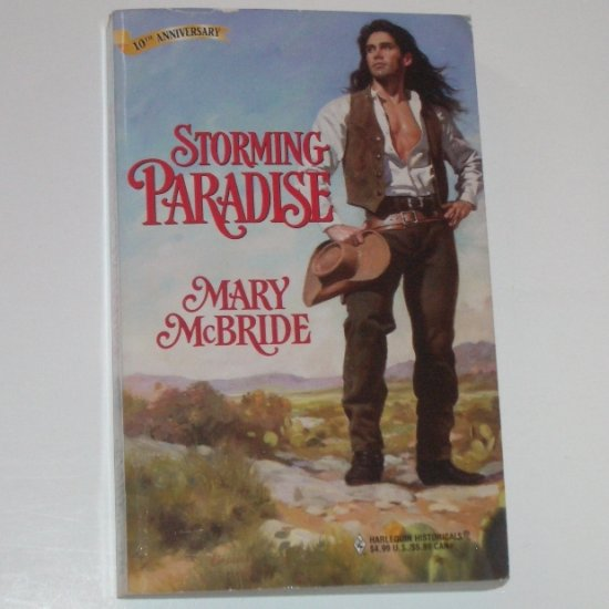 Storming Paradise by MARY McBRIDE Harlequin Historical Western Romance No 424 1998