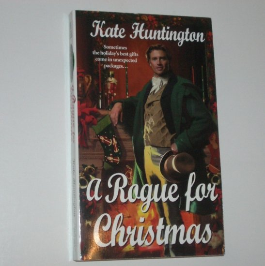 A Rogue for Christmas by KATE HUNTINGTON Zebra Historical Regency Romance 2001