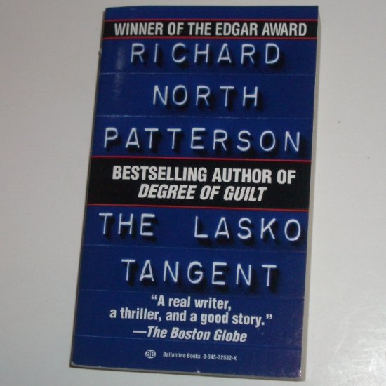 The Lasko Tangent by RICHARD NORTH PATTERSON Thriller 1993
