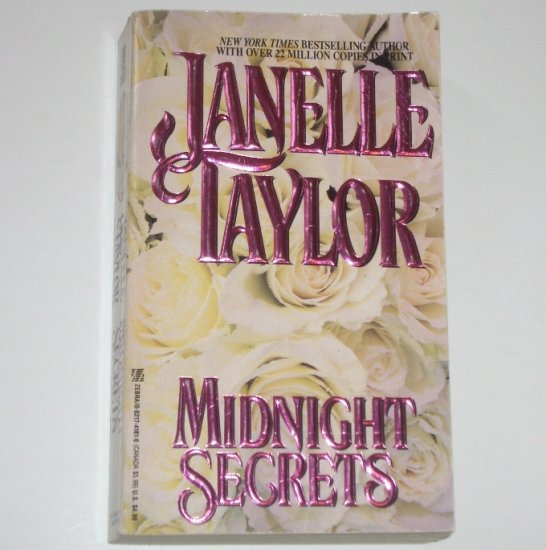 Midnight Secrets by JANELLE TAYLOR Historical Civil War Romance 1993