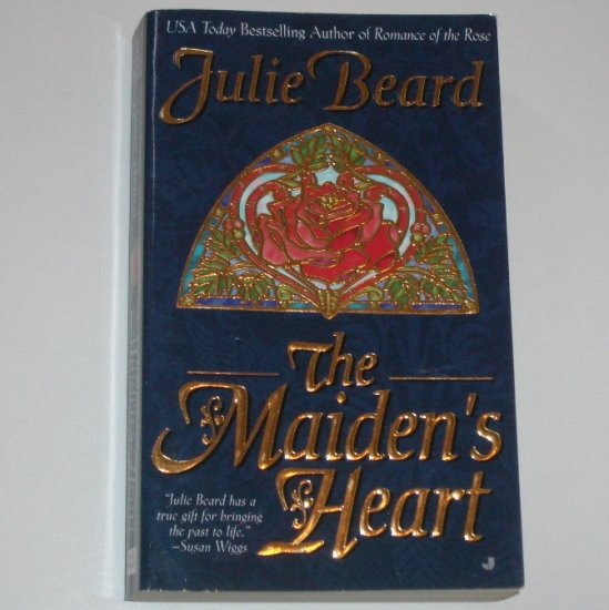 The Maiden's Heart by JULIE BEARD Historical Medieval Knight Romance 1999