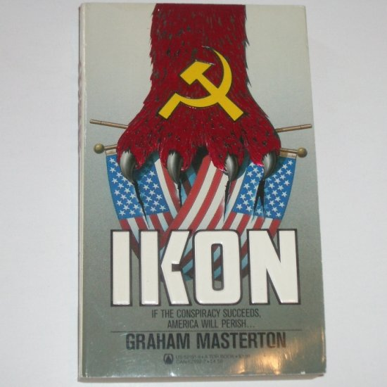 Ikon by GRAHAM MASTERTON Thriller 1984