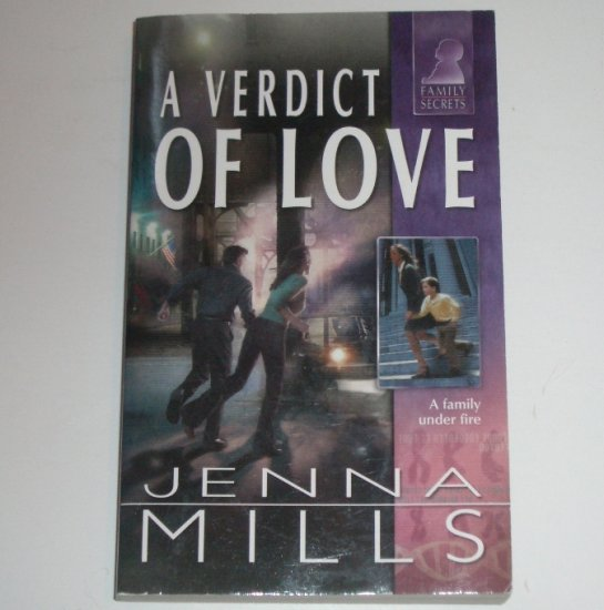 A Verdict of Love by JENNA MILLS 2003 Silhouette Family Secrets Series