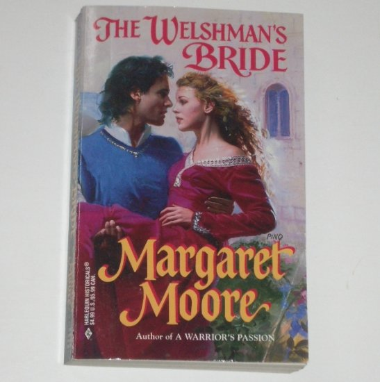 The Welshman's Bride by MARGARET MOORE Harlequin Historical Medieval Romance 1999 Warrior Series