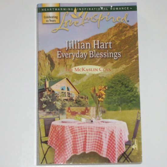 Everyday Blessing by Jillian Hart Love Inspired Christian Romance 2007 The McKaslin Clan
