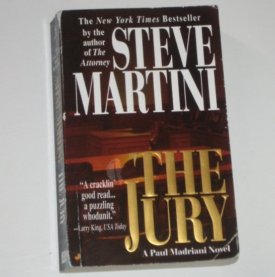 The Jury by STEVE MARTINI Legal Thriller 2002 A Paul Madriani Novel