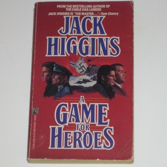 A Game for Heroes by JACK HIGGINS Espionage Thriller 1990