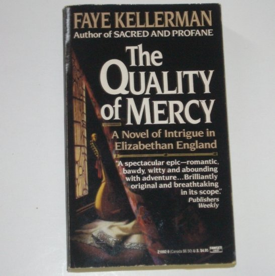The Quality of Mercy by FAYE KELLERMAN Historical Mystery 1990