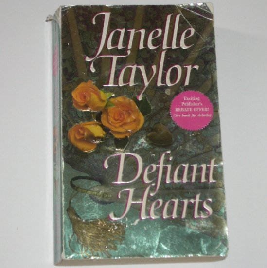 Defiant Hearts by JANELLE TAYLOR Historical Civil War Romance 1997
