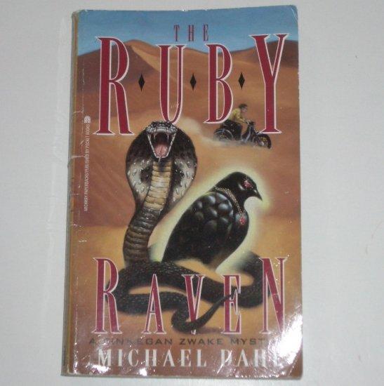 The Ruby Raven by MICHAEL DAHL A Finnegan Zwake Mystery 1999