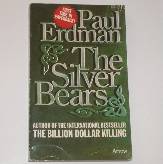 The Silver Bears by PAUL ERDMAN Import Financial Thriller 1974