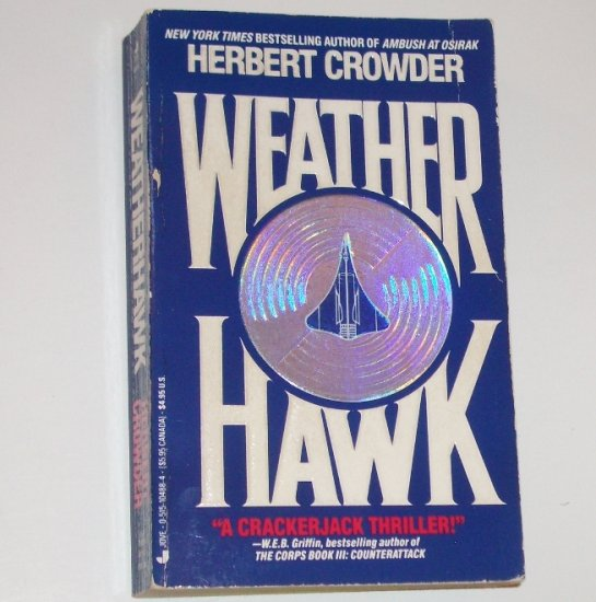 Weather Hawk by HERBERT CROWDER Thriller 1991