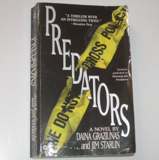 Predators by DAINA GRAZIUNAS and JIM STARLIN Thriller 1997