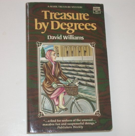 Treasure By Degrees by DAVID WILLIAMS 1984 A Mark Treasure Mystery