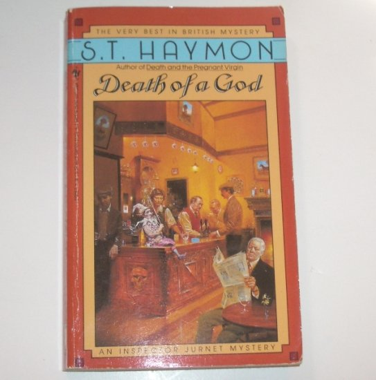 Death of a God by S T HAYMON 1990 An Inspector Ben Jurnet Mystery