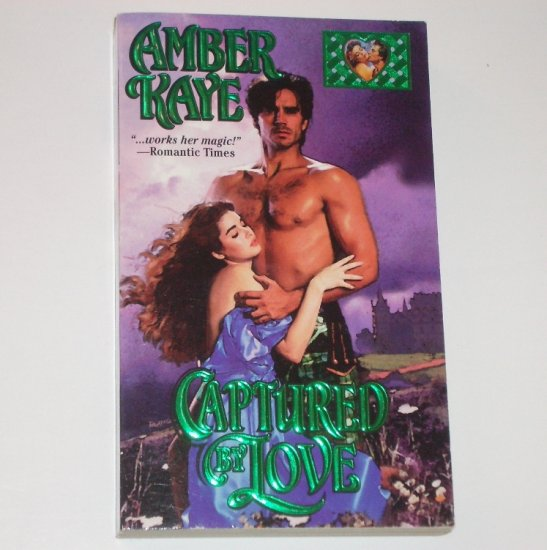 Captured by Love by AMBER KAYE Zebra Lovegram Historical Scottish Romance 1994